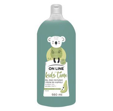 On Line Kids Time płyn pod prysznic Gruszka (980 ml)