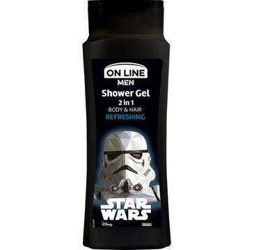 On Line Men Star Wars Refreshing żel pod prysznic 2w1 dla mężczyzn 400 ml