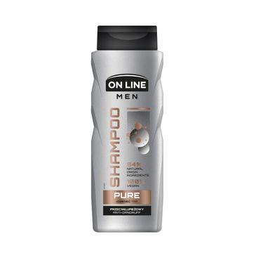 On Line – Men Szampon Przeciwłupieżowy Dziegieć (400 ml)