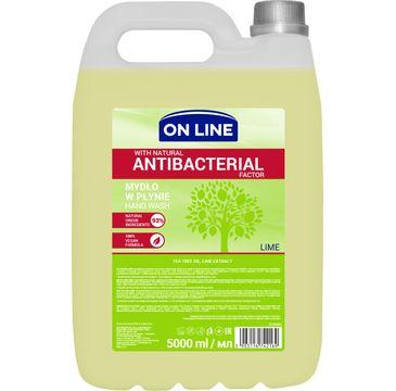 On Line mydło antybakteryjne Lime 5 l