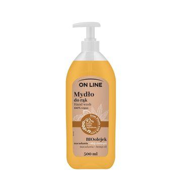 On Line – Mydło Konopie & Macadamia (500 ml)