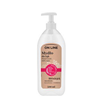 On Line – Mydło Kremowe żurawina & Macadamia (500 ml)