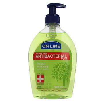 On Line mydło w dozowniku Antybakteryjne Lime 500 ml