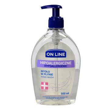 On Line mydło w dozowniku Hipoalergiczne Pure 500 ml