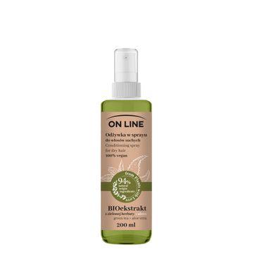 On Line – Odżywka spray Aloes & Zielona Herbata (200 ml)