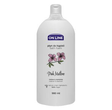 On Line – Płyn do kąpieli Pink Mallow (980 ml)