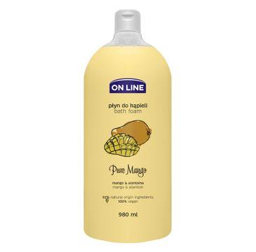 On Line – Płyn do kąpieli Pure Mango (980 ml)