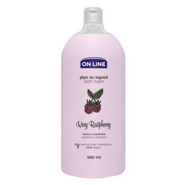 On Line – Płyn do kąpieli Very Raspberry (980 ml)