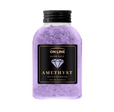 On Line – Sól do kąpieli Amethyst (600 g)