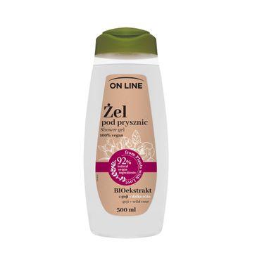 On Line – Żel pod prysznic Dzika Róża & Goji (500 ml)