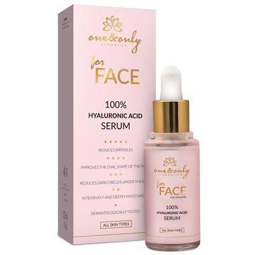 One&Only For Face And Neckline 100% Hyaluronic Acid serum do twarzy i dekoltu 30ml