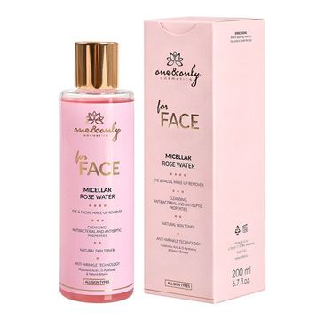 One&Only For Face Micellar Rose Water micelarna woda różana do demakijażu 200ml