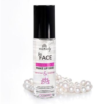 One&Only For Face Perfect Skin Make Up Base matująco-wygładzająca baza pod makijaż 30ml