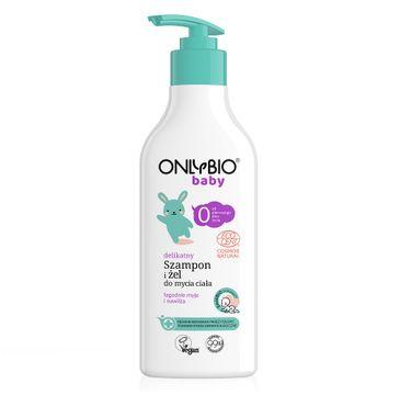 OnlyBio – Baby delikatny szampon i żel do mycia ciała od 1 dnia życia (300 ml)