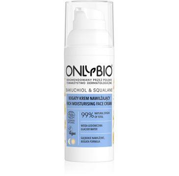 OnlyBio – Bakuchiol & Squalane bogaty krem nawilżający (50 ml)