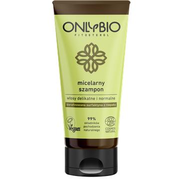 OnlyBio Fitosterol – szampon micelarny do włosów delikatnych i normalnych (200 ml)