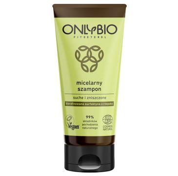 OnlyBio Fitosterol – szampon micelarny do włosów suchych i zniszczonych (200 ml)