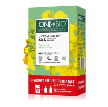OnlyBio – Hipoalergiczny żel do mycia twarzy - refill (500 ml)