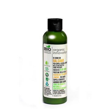 Organic Innovation Naturalna odżywka nawilżająco-regenerująca z proteinami do włosów suchych i zniszczonych (250 ml)