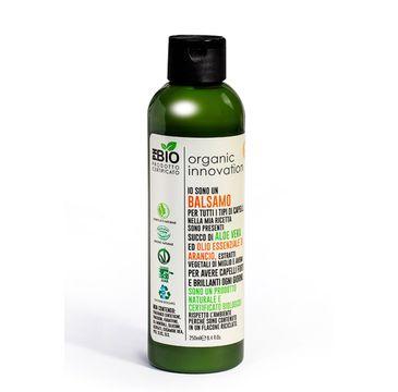 Organic Innovation Naturalna odżywka wzmacniająca do włosów normalnych Proso i Owies (250 ml)