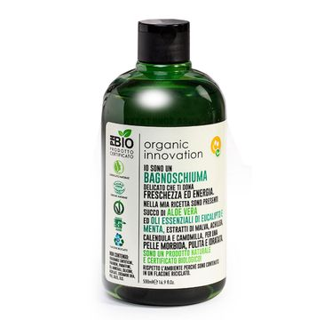 Organic Innovation Naturalny aloesowy żel pod prysznic Mięta i Eukaliptus (500 ml)
