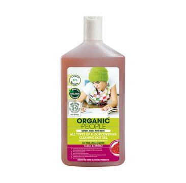 Organic People All Types Of Floor Covering Cleaning Eco Gel żel myjący do wszystkich typów podłóg z olejkiem z drzewa herbacianego 500ml