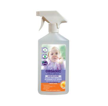 Organic People Glass And Mirrors Cleaning Eco Spray spray myjący do szkieł i luster z organiczną cytryną i pomarańczą 500ml