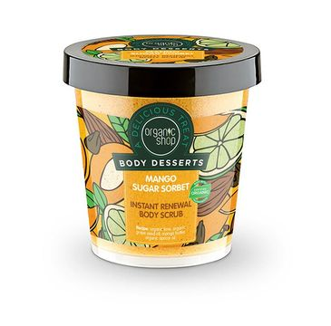 Organic Shop Body Desserts Sugar Sorbet peeling do ciała mango 450 ml