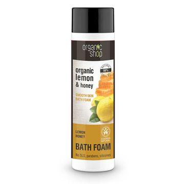Organic Shop płyn do kąpieli cytryna i miód (500 ml)
