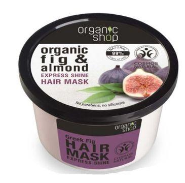 Organic Shop maska do włosów Grecka figa i migdał 250 ml