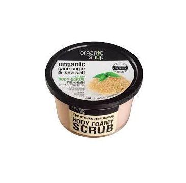 Organic Shop peeling do ciała cukier trzcinowy złuszczający 250 ml