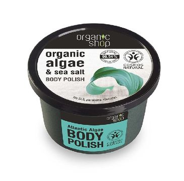 Organic Shop Peeling do każdego typu skóry atlantyckie algi 250 ml