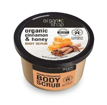 Organic Shop peeling do każdego typu skóry miodowy cynamon 250 ml