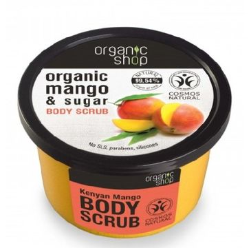 Organic Shop Scrub peeling do ciała kenijskie mango 250 ml