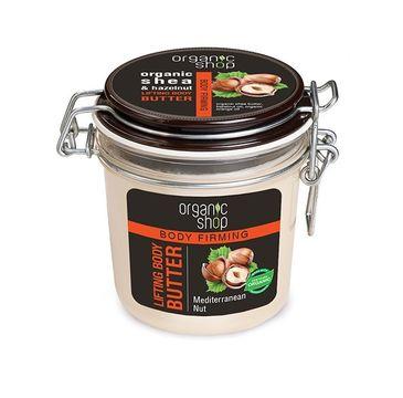 Organic Shop Slim masło do ciała ujędrniające śródziemnomorski orzech 350 ml