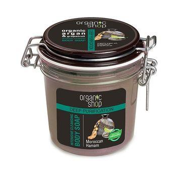 Organic Shop Slim mydło do każdego typu skóry intensywne oczyszczanie marokański hammam 350 ml