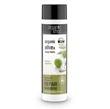 Organic Shop szampon do włosów cienkich regenerującym księżniczka maroko 280 ml