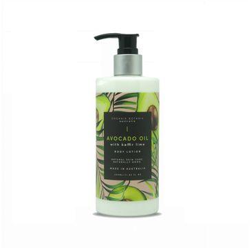 Organik Botanik Avocado Oil with Kaffir Lime Body Lotion balsam do ciała z olejem awokado i liśćmi kaffiru (350 ml)