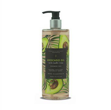 Organik Botanik Avocado Oil with Kaffir Lime Shower Gel żel pod pod prysznic z olejem awokado i liśćmi kaffiru (500 ml)