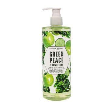 Organik Botanik Grean Peace Shower Gel żel pod prysznic z jarmużem ogórkiem kiwi i zielonym jabłkiem (500 ml)