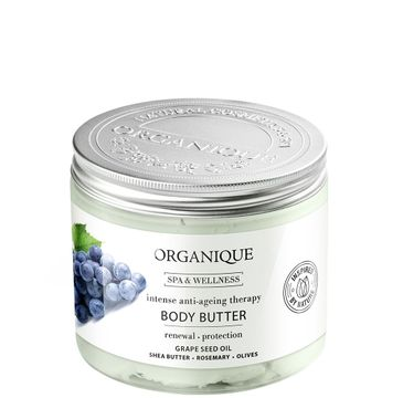 Organique Masło do ciała Intense Anti-Ageing Grape (200 ml)
