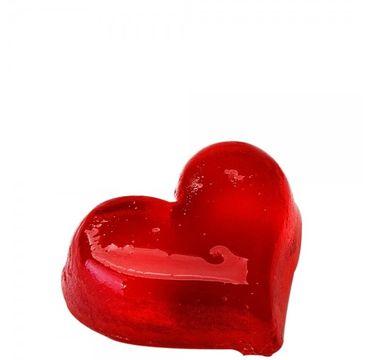 Organique Mydło glicerynowe truskawkowe Czerwone Serce (100 g)