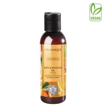Organique olej do kąpieli i masażu Pomarańcza (125 ml)