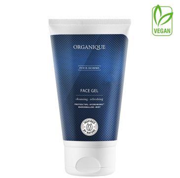 Organique odświeżający żel do mycia twarzy dla mężczyzn (150 ml)