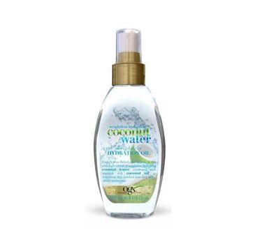 Organix Coconut Water Weightless Hydration Oil nawilżający olejek do włosów 118ml