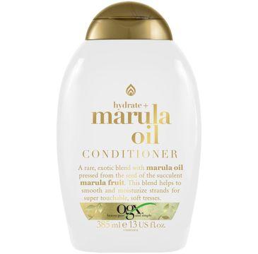 Organix Hydrate + Marula Oil Conditioner nawilżająco-wygładzająca odżywka do włosów (385 ml)