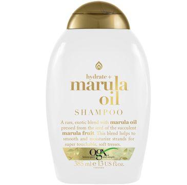 Organix Hydrate + Marula Oil Shampoo nawilżająco-wygładzający szampon do włosów (385 ml)