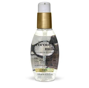 Organix Kokos serum wzmacniające z mleczkiem kokosowym 118ml