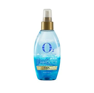 Organix O2 Weightless Oil Lifting Tonic dwufazowy olejek podnoszący i dotleniający włosy 118ml