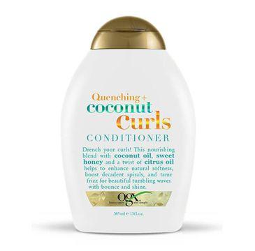 Organix Quenching + Coconut Curls Conditioner odżywka do włosów kręconych 385ml